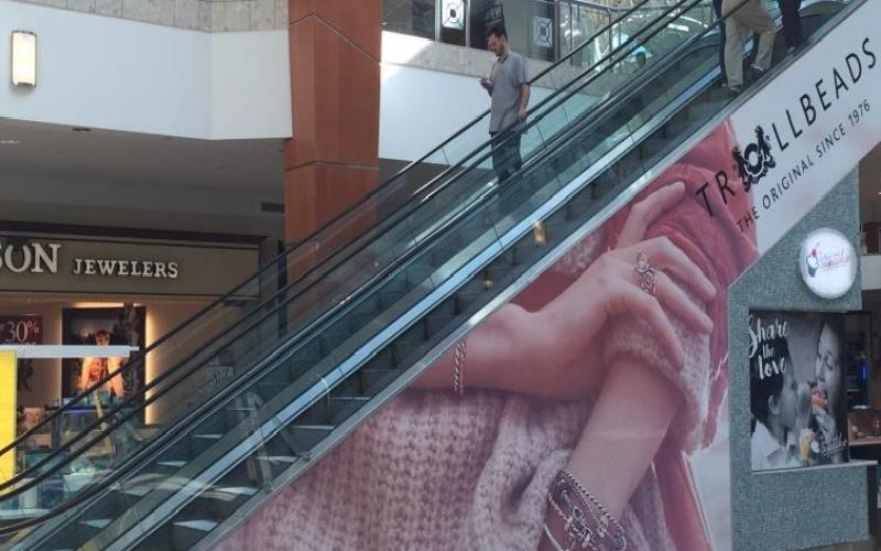 Escalator wrap